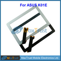 """For Asus Touch Screen Bar Top Quality 10.1"""" For ASUS K01E Touch Screen Digitizer Front Glass Panel Sensor Black White Color"""