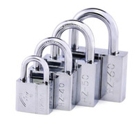 Wholesale Stainless steel blade padlock Mechanical lock locksmith high quality best sell