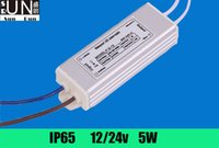 Wholesale 5pcs AC100 V IP65 ip67 waterproof DC V A Power Supply Adapter W LED power supply led driver transformer