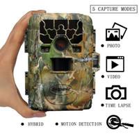 36pcs noir IR LED 1080P 12MP numérique GPS caméra de chasse de détection de mouvement infrarouge de la faune Trail scouting caméra chasse caméra de chasse