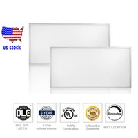 Luminaires dimmable Prix-US stock LED Panel Light 2x4 Pieds Edge-Lit 72W 7200 LM 0-10V Dimmable 5000K Lumière du jour Blanc Blanc Cadre Ultra Thin Lights Plafonniers