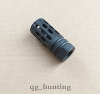Wholesale High quality AR15 X28 Thread Steel Muzzle Device Brake Break Magnesium Phosphate Finish