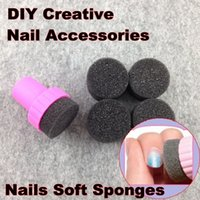 Wholesale Nail Art Tools Nails Soft Sponges For Color Fade Manicure DIY Creative Nail Accessories Supply NR WS1
