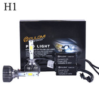 Wholesale 80W LM H1 CREE LED Lamp Headlight Kit Car Beam Bulbs V Upgrade k New Hot sell Nice HIGH Quality Popular