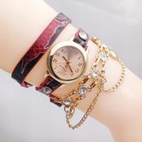 al por mayor collares de serpentina-Collar serpentino nuevo rodea el reloj de la manera Reloj de la pulsera del cinturón