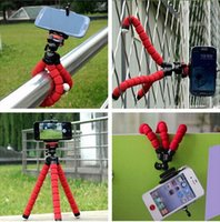 adjustable camera - Universal Car Phone Holder Flexible Octopus Tripod Bracket Mount Monopod Adjustable Accessorie For Mobile Samsung Camera
