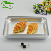 Wholesale Cake Baking Pans dishes Cookie Tray Baking Sheet Plate Pizza Pan High Quality Thicked Aluminum Alloy Pans
