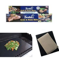 Wholesale Grill Bake Mats Non Stick Silicone Baking Pad For Cake Cookie BBQ Kitchen Baking Pastry Tools LJJP402