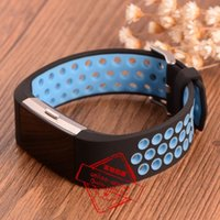 adjustable strap clasp - For Fitbit Charge2 charge Adjustable Dual Color Silicone Straps Bands Fitness Replacement Accessories Wrist Band With Metal Clasp