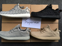 Wholesale 2016 Boost Pirate Black Turtle Dove Moonrock Oxford Tan Mens Running Shoes Women Kanye West Boosts Yezzys Season With Box