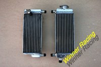 Wholesale R L ALUMINUM ALLOY RADIATOR FOR HONDA CR250R water box motorcycle replacement parts engine cooling parts