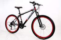 Wholesale Mountain bike double disc brake suspension inch bike