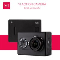 Wholesale International Version Original Xiaomi Yi Action Camera XiaoYi Waterproof Camera P fps MP WIFI Bluetooth Sports Camera