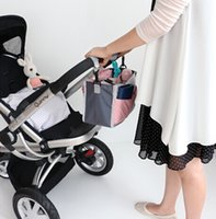 Wholesale pram baby carriages Messenger Diapers bag for mom hanging organizer bottle Thermal Mother Nappy accessories for stroller bags