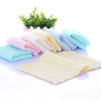 Wholesale 2017 children Europe and the United States cotton high density six story washed seersucker towel maternal and child supplies