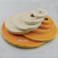 Wholesale 3 quot quot Cotton Lint Cloth Buffing Wheel Gold Silver Jewelry Mirror Polishing Wheel