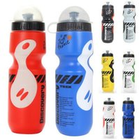 Wholesale 8 Colors ML Portable Outdoor Bike Bicycle Cycling Sports Drink Jug Water Bottle Cup Tour De France Bicycle Bottle