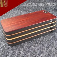 bamboo cell phone - Customized Phone Case For Iphone wood Cases TPU Hard Wooden Cell phone Cover For Apple IPhone s Plus Mobile Phone Bamboo Cases