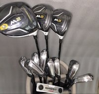 bag combos - M2 Golf Combo Set M2 Irons Driver pc Fairway Ghost Tour Putter pc Steel Graphite Shafts With Head Cover Without Bag