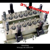 Wholesale 24 cavities plastic injection valve needle pet preform mould water mould