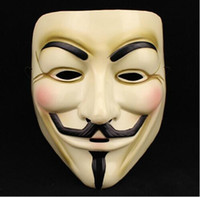 Wholesale Hot Selling Party Masks V for Vendetta Mask Anonymous Guy Fawkes Fancy Dress Adult Costume Accessory Party Cosplay Masks