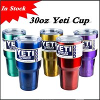 Wholesale Hot selling Rambler Tumbler oz YETI Cups Metallic color Cars Beer Mug Large Capacity Mug Tumblerful Yeti cups in stock