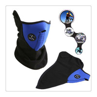 Wholesale 2017 Hot Outdoor Sports Mask Face Mask Ski Mask Neck Warmer Ski Ice Fishing Cross Country Hunting Nordic Skiing Motorcycle Winter Warm DHL