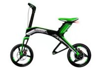Wholesale Sportingstar Robstep X1 Electric Bcycle Foldable Self balancing Bike A Lith on Battery Bluetooth Support km h w DC Motor Green