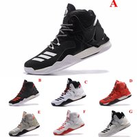 ad brown - New arrival D Basketball Shoes Men Boots VII White Christmas Sneakers Derrick Rose Ad Sports Top Quality Sneaker