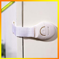 Wholesale Lengthened design drawer lock baby safety lock infant door and drawer baby safe lock baby finger protection of children