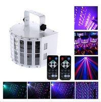 Wholesale Sound Active RGBW LED Beam Stage Light DMX CH Disco DJ Party Show Effect Lighting with X Remote US STOCK