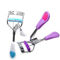 Wholesale Arrive Ladies Makeup Eyelash Curling Eyelash Curler with comb Eyelash Curler Clip Beauty Tool Stylish