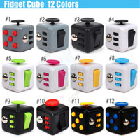 big kids bike - Newest Fidget cube Popular Toy magic decompression anxiety hand spinner stress relief Portable finger anti irritability Colors Toys DHL