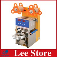 Wholesale Digital Automatic Cup Sealing Machine Bubble Tea Sealing Machine for drinking by DHL shipping