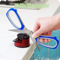 Wholesale Knife Sharpener Best Sale On Amazon High Quality Colors Tungsten steel Easy Using Fast Shipping