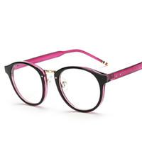 Wholesale Retro Brand Design Computer Eye Glasses Frame Men Rivet Frames Male Eyeglasses Optical Frame Clear Lens Glasses