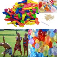Wholesale 200PCS Pack Magic Balloons Water Kids Toy Water Balloons Bunch Of Balloons For Children s Outdoor Sports for baby