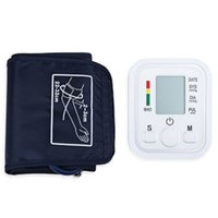 Wholesale Portable Automatic Digital LCD display upper Arm electronic Blood Pressure Pulse Monitor Health Care with voice function
