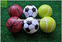 Two Piece Ball best golf gifts - Sports golf balls double ball for golf best gift for friend bag