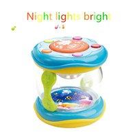 bass drum light - Children s educational toys new multifunction lighting effects intelligent learning clap drum music magic drum Multifunction