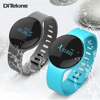Montre de fitness de santé à puce Prix-H8 Smart Wristband Bluetooth sans fil Sport Fitness Smart Watch Santé Bracelet Passometer Activité Sleep Tracker Pour IOS Android Xiaomi