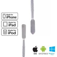 Wholesale New Metal Spudger Repair Opening Pry Tool Open For iPod iPad iPhone Good Quality