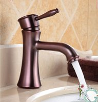 Wholesale 3 color choice chrome plated single brass basin faucet copper finished single handle hole basin sink face faucet hot color water mixer tap