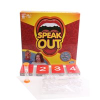 baby cat games - Speak Out Game For Baby Boys and Girls Interesting Family Party Speak Out Board Game Baby Toys Hot Selling