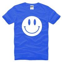 acid t shirts - Fashion Cute Acid Smiley Face Printed Men T Shirt Tshirt New Short Sleeve O Neck Cotton Casual T shirt Tee summer style