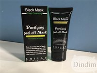 Wholesale Blackhead Remover Deep Cleansing Purifying Peel Acne Black Mud Face Mask SHILLS Deep Cleansing Black MASK ML
