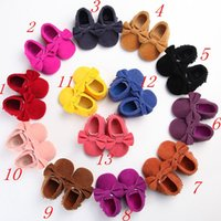 best infant walkers - New Arrival Cute Butterfly knot Tassels Baby Moccasin Best Quality Infant Babies First Walkers Newborn Footwears Kids Indoor Boots Colors
