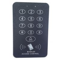 Wholesale HWP D114C NEW RFID Proximity Door Access Control System RFID EM Keypad Access Control KHz cards free