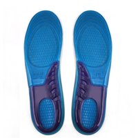 Wholesale IMC New Orthotic Arch Support Massaging Gel Insoles sizes