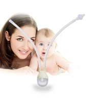 baby flu - Baby Newborn Infant Safety Nose Cleaner Nasal Aspirator Flu Protection Baby Care Nose Snot Tweezers Sucker
